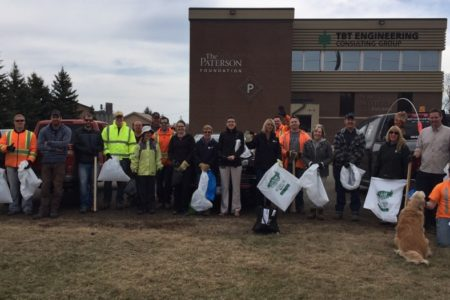 TBT Engineering participates in 2015 Spring Up to Clean Up