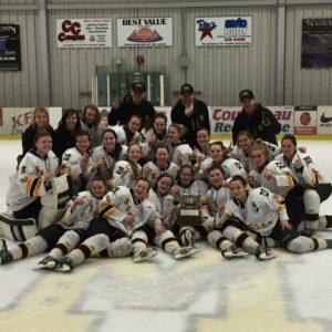 CONGRATS Fort Frances High School Muskie Girls… 2016 NORWOSSA Hockey Champions!