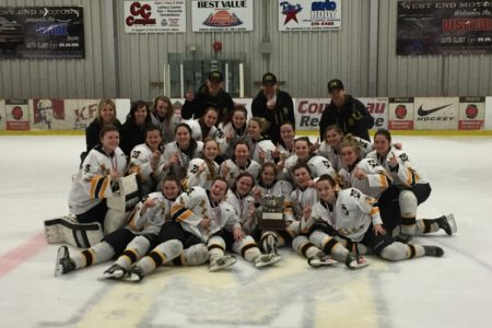 CONGRATS Fort Frances High School Muskie Girls… 2016 NORWOSSA Hockey Champions!