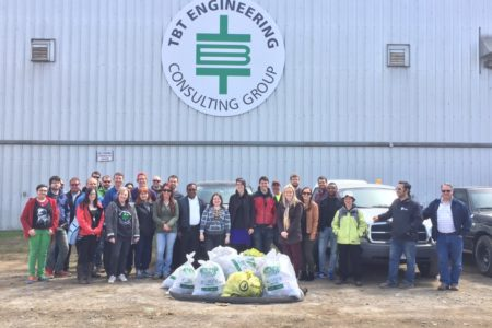 TBT ENGINEERING Participates In 2016 SPRING UP TO CLEAN UP!