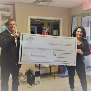 TBTE Employees Raise $400 For Thunder Bay District Humane Society!