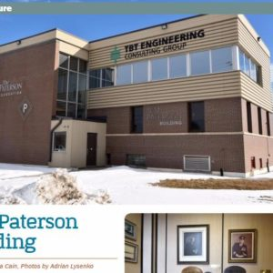 TBT Engineering offices featured in March's edition of The Walleye!
