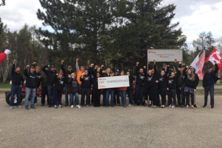 TBT Engineering Big Bike Raises $4,029 for Heart and Stroke!