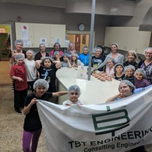 TBT Engineering Sponsors Take Back the Kitchen for Gr. 4-6 at St. Jude Elementary School