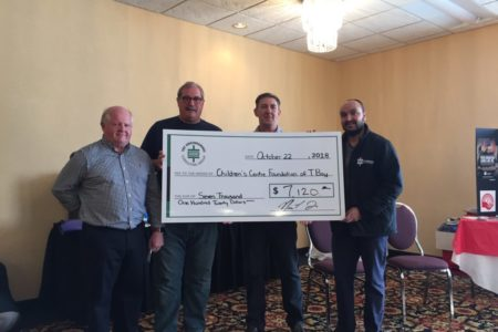 Annual TBTE Golf Tournament Raises $7,120 for Children's Centre Foundation of TBay