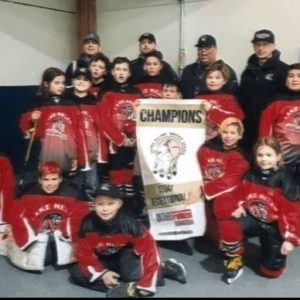 TBT Engineering Sponsors Lake Helen Jr Braves Atom hockey team!