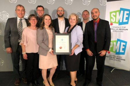 TBT Engineering has been named one of Canada's Top Small & Medium Employers in 2019!