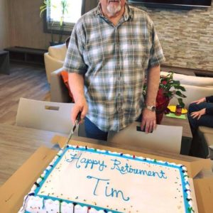 HAPPY RETIREMENT TIM!