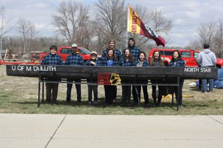 TBT Engineering sponsored the University of Minnesota Duluth Concrete Canoe Team